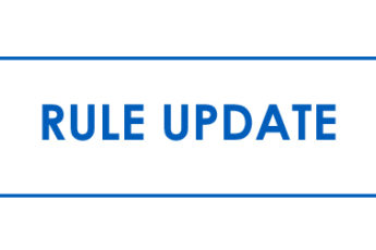 Rule Change Updates